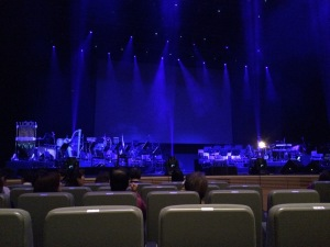 コンサート始まる前