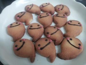お化けクッキー