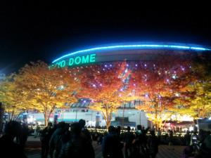 ポールのコンサートはここ東京ドーム