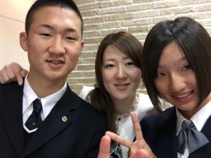 祝高校入学!のんきな坊主