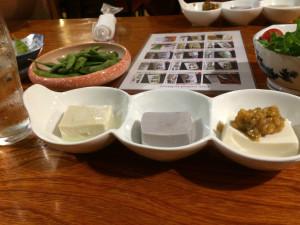 「ゆば膳」といえば「ゆば豆腐」