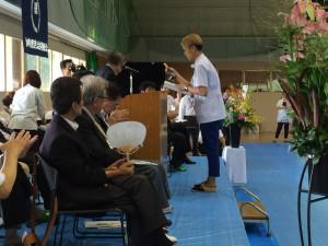 浦松君表彰式