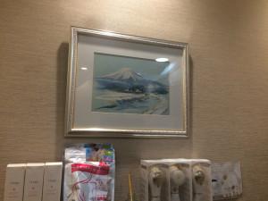 こんなとこにも富士山