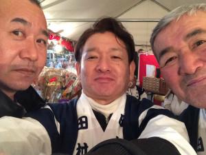 森さん、豊島さんと僕