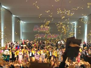 UDON楽カウントダウンコンサート2015の瞬間だあ!