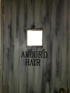 正式にはAMOUR'D HAIR
